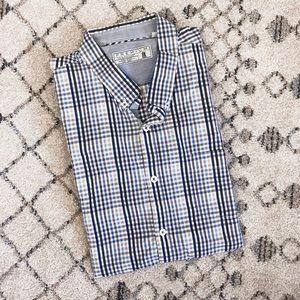7 Diamonds Premium Checkered Dress Shirt